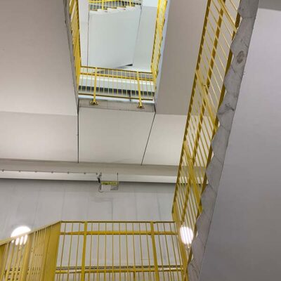 Industrial staircase decorators