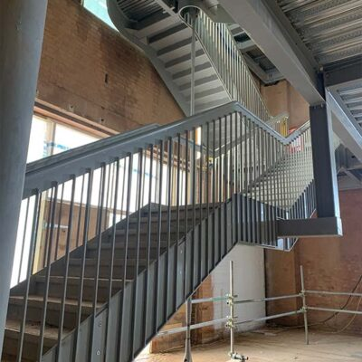 Industrial staircase Painting
